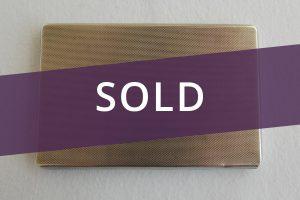Cigarette case sold