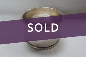Silver Napkin Ring sold