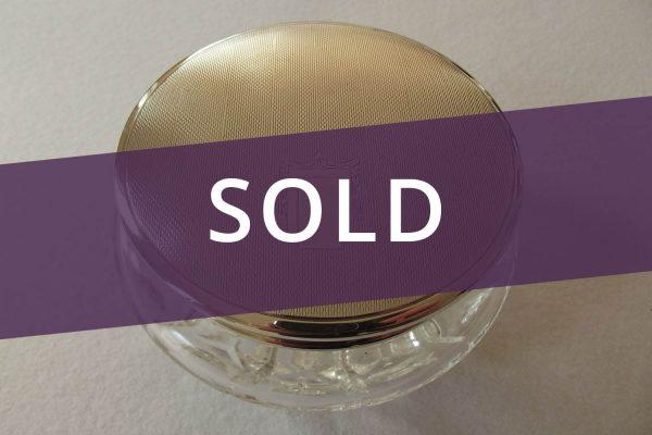 Art Deco box sold