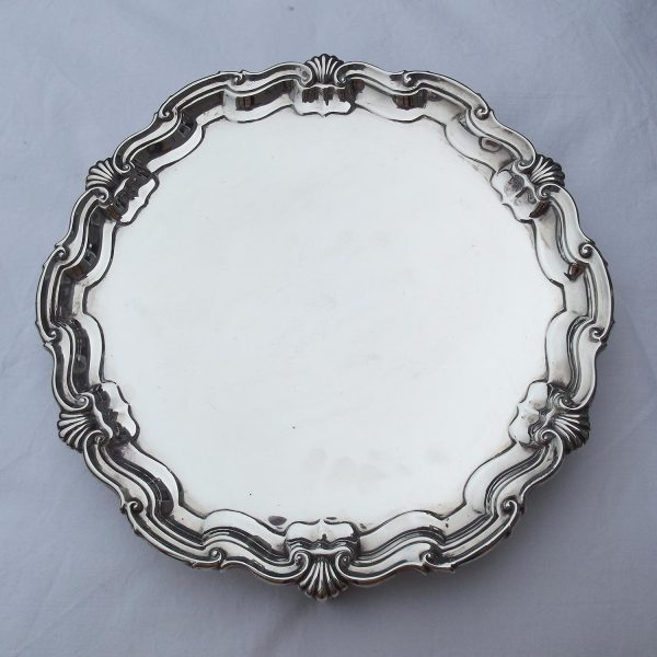 Wide picture of silver salver